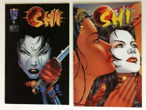 SHI -  Crusade Comics, Issue #5 & #7, Excellent Condition