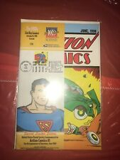 Action Comics #1 1998 USPS Stamp Reprint 1st Appearance of Superman (rare)