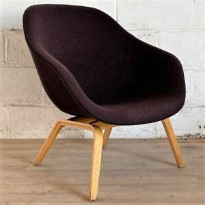 HAY AAL83 Armchair Brown Denmark Lounge Chair Scandinavian