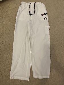 RARE White Disel Cargo Trousers