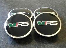Skoda VRS 56mm 5JA601151A Alloy Wheel Centre Caps Badge-Set of 4 *QUICK UK POST*