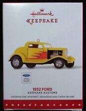 2015 Hallmark 1932 Ford Hotrod Keepsake Kustoms Ornament - MIB