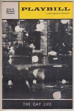 "Barbara Cook ""The Gay Life""  Playbill  1961  Jules Munshin, Walter Chiari"