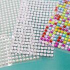 Self Adhesive Acrylic Crystal Rhinestones For DIY Diamond Scrapbooking Stickers