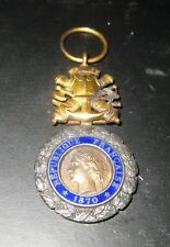 medaglia valore medaille valeur  1870 francia  scontato