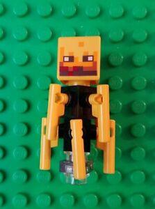 BLAZE New Minifigure Rare Lego MOC Version Character Minecraft Figures Gift Toys