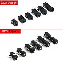 6 50 Pin Idc Box Header Straightangled Flat Ribbon Cable Pcbfc Connector