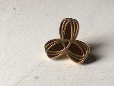TNA logo Womens Clothing 24K Gold Lapel Hat Tie Scarf Pin