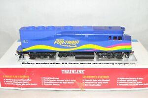 HO scale Walthers Trainline Florida Fun Train EMD F40PH locomotive train