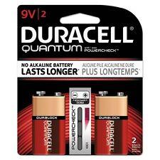 """Duracell Quantum Alkaline """"9V"""" Batteries - Qu9V2Bcd"""