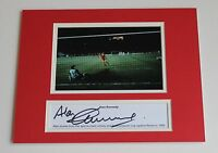 ALAN KENNEDY Liverpool 1984 HAND SIGNED Autograph 10x8 Photo Mount + COA Proof