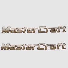 Mastercraft 758436 Trailer Bronze Ms 02-10 Boat Decal (Pair)