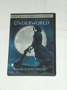 Underworld DVD 2004 Special Edition, Full Frame edition, Kate Beckinsale Fantasy