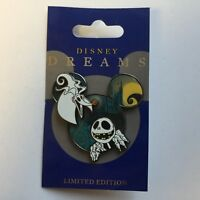 DLR - Disney Dreams Collection - Jack Skellington & Zero LE Disney Pin 64813