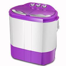 Mini Portable Washing Machine - Purple/White