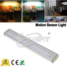 Batería 10 LED Luz Auto PIR Movimiento Sensor Lámpara Gabinete Armario Cajones