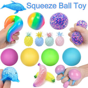 Sensory Stress Relief Ball Autism Anxiety Squeeze Colour Change Fidget Toy Gift