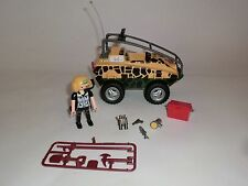 Playmobil  Auto Jeep Amphibienfahrzeug Dinosaurier Dino Forscher