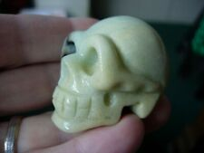 Crystal Skull Chinese amazonite n06