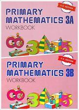 Singapore Primary Math 2 Workbooks 3A and 3B US Edition - FREE SHIPPING