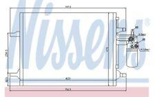 NISSENS Condensador, aire acondicionado VOLKSWAGEN GOLF BMW Serie 3 VOLVO 940159