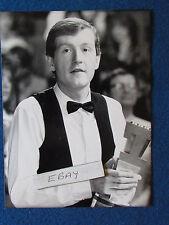 "Original Press Photo - 8""x6"" - Steve Davis - 1986 - Trophy"