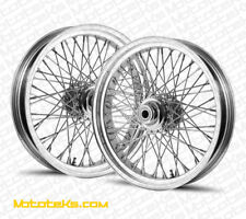 16X3.5 60 SPOKE FRONT REAR WHEEL HARLEY SOFTAIL FATBOY DELUXE HERITAGE 84-99