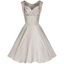 Rockabilly Polyester Vintage Dresses for Women