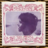 "DONOVAN Lalena Peace and Love promo 7"" 45 giri vinyl Red Ronnie"