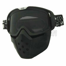 Motorcycle safe face mask dust mask W detachable Goggles And Mouth Filter 2017