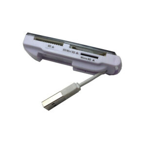USB 2.0 SDHC CARD READER MMS MEMORY STICK PRO DUO M2 SD