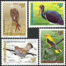 Luxembourg 1992 Welfare Fund Grouse/Red Kite/Stork/Oriole/Birds/Nature 4v n42386