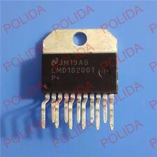 5PCS MOTOR DRIVER IC NSC ZIP-11 (TO-220-11) LMD18200T LMD18200T/NOPB LMD18200TP+