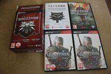 TRYLOGIA WIEDŹMIN - The Witcher 3 Wild Hunt  Edition PC Game Brand New