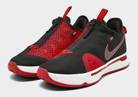 Nike PG 4 Basketball Shoes Black / Red / White CD5079-003 Paul George Men's Shoe