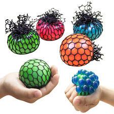 1x Jouet Squeeze Balle Ballon Anti-stress Soulagement Pression Raisin Cadeau NF