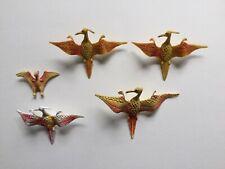 Plastic Dinosaur Pterodactyl Figures x5