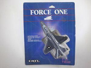 Ertl Force One F-16 Falcon Fighter Plane Jet Die Cast