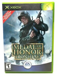 Medal of Honor: Frontline (Microsoft Xbox, 2002)  Box & Manual Included, Tested