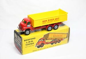 Budgie Toys No 276 Bedford LWB Tipper In Its Original Box - Near Mint Vintage