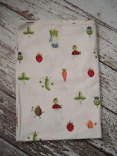IKEA Torva Gronsak Duvet Cover Vegetables Ladybugs Garden Cotton Twin Size EUC