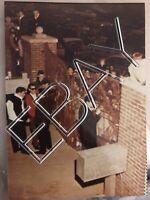 ELVIS INSIDE GATES OF GRACELAND CANDID ORIGINAL 3x5 OLD KODAK PHOTO 077