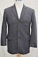 mens Stunning REISS WOOL blazers jacket 3 button made in Italy size uk 36 eur 46