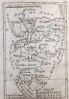 Aisne 1790 Laon Craone Chauny Noyon Vervins Péronne Hirson La Capelle Soissons