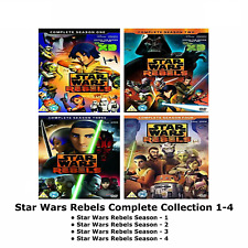STAR WARS REBELS COMPLETE SERIES 1-4 DVD ANIMATION COLLECTION Season 1 2 3 4 NEW