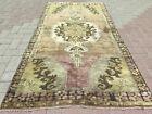 """Vintage Rug, Anatolia Carpet, Distressed Rug, Floor Carpet Handmade Rug 40""""X78"""""""