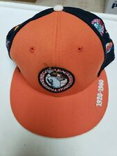 Negro League Baseball Museum Hat Size 7 5/8 100% Wool Embroidered