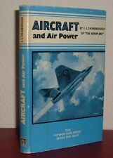 AIRCRAFT AND AIR POWER F G Swanborough 1958 1st First Edition Power & Speed HB