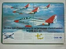 6/1983 PUB AVION CASA C-101 TRAINER SPANISH AIRCRAFT ORIGINAL FRENCH AD