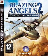 Blazing Angels 2: Secret misiones de la segunda guerra mundial PS3 * En Excelente Estado *